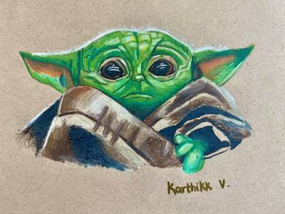 Fit400 baby yoda 1