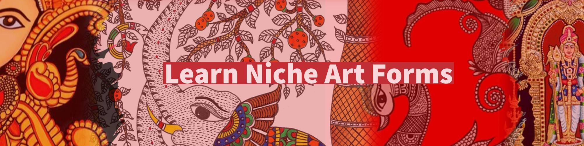 Niche art forms banner