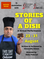 Fit200 stories of a dish poster for mmff