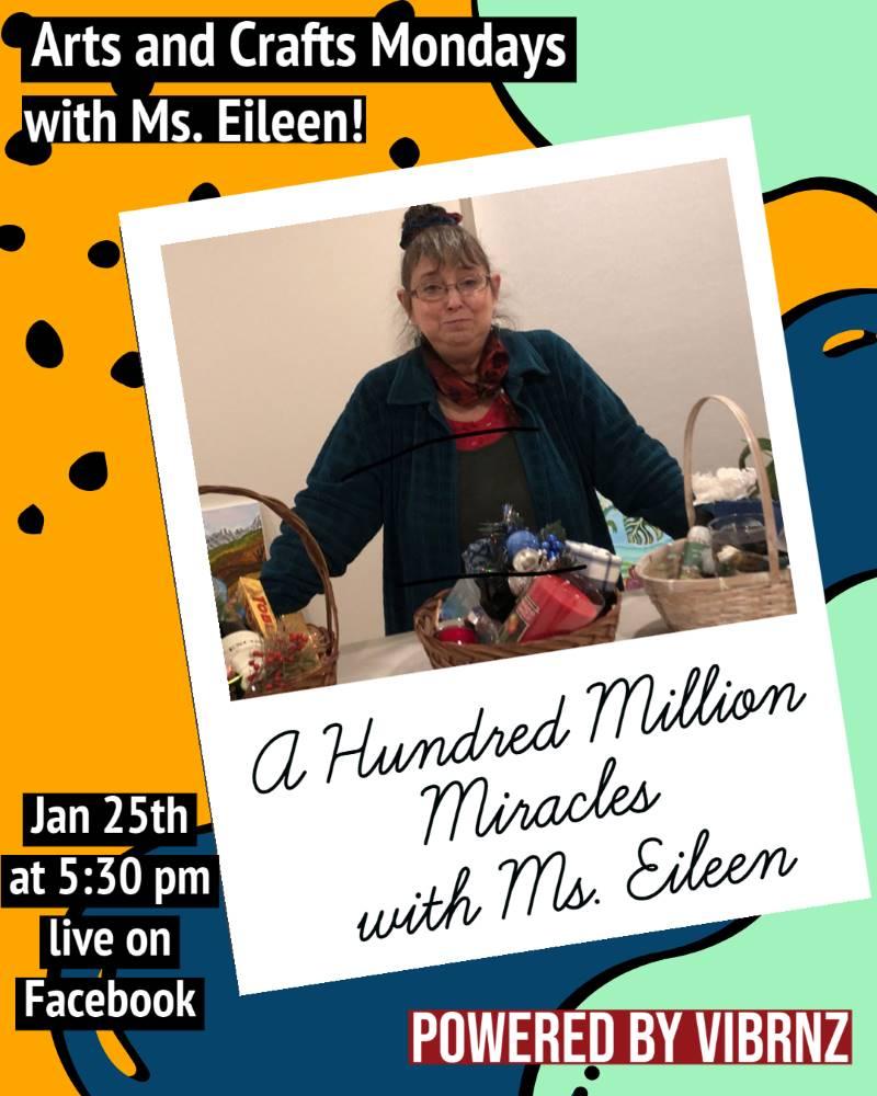 Eileen mondays flyer