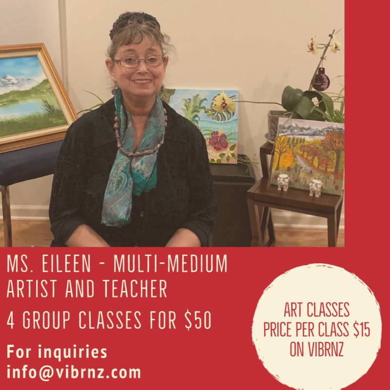 Eileen art classes group