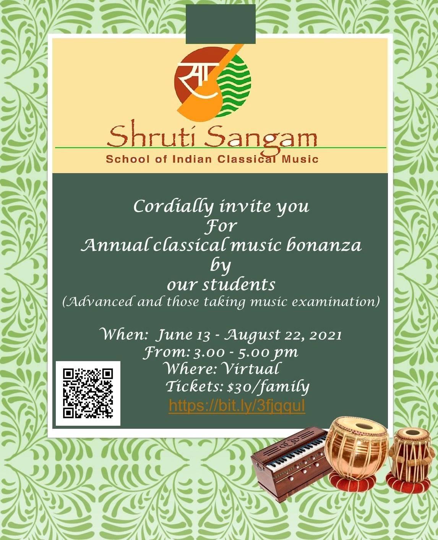 Shruti sangam flyer