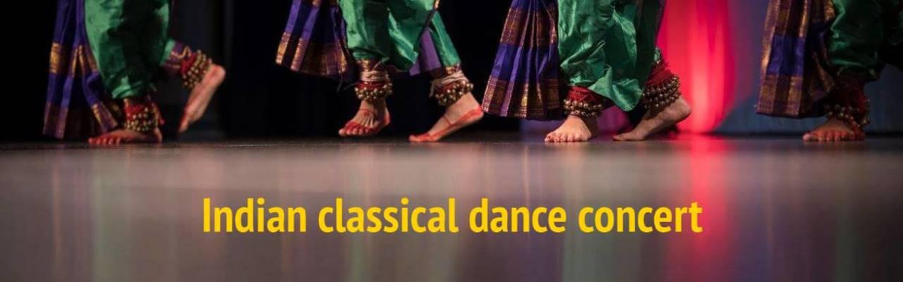 Resize banner artstanding indian classical dance