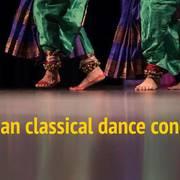 Thumb artstanding indian classical dance