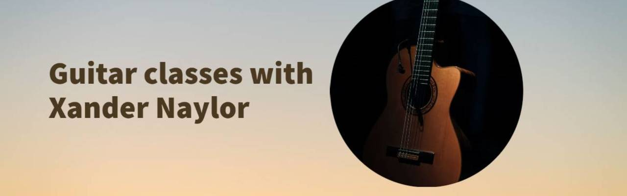 Resize banner guitar classes with xander