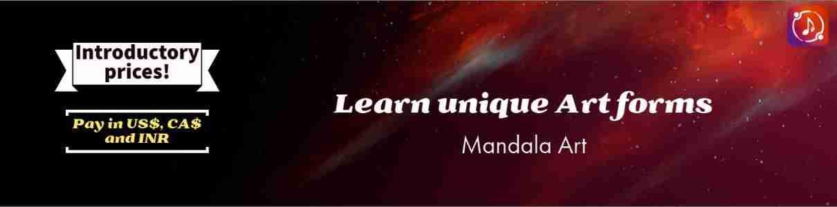 Low qual mandala art banner 1